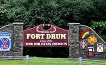 Close to Fort Drum